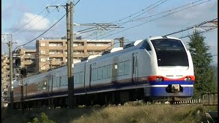特急しらゆき3号新潟行きE653系H203編成 信越本線下り55M
