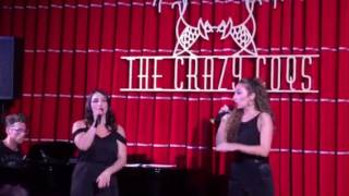 Zedel Follies -Emma Kingston and Natalie Green