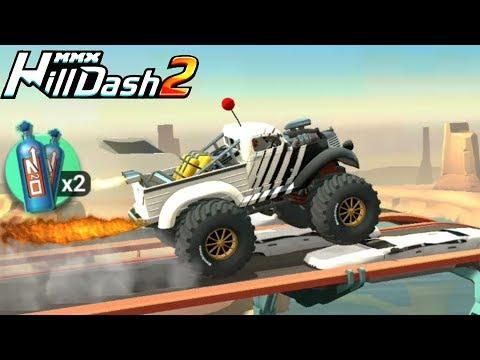 Самый МОЩНЫЙ МОНСТР ТРАК в MMX HILL DASH 2 / VIDEO FOR KIDS cars игра как мультик машинки для детей
