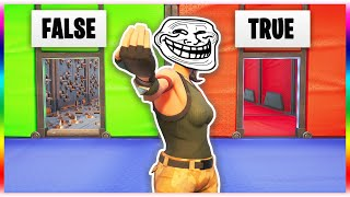 The IMPOSSIBLE Troll Deathrun 2.0 *SECRET LEVELS* (Fortnite Creative Mode)