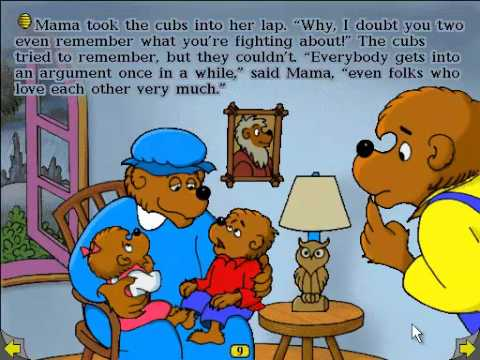 Playthrough The Berenstain Bears Get In A Fight