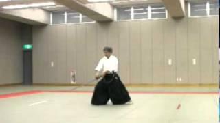 Koji YOSHIDA Nishio-ryu Iaido (Toho Iai no13)