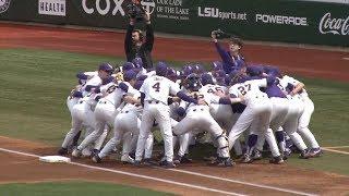 LSU Baseball Sweeps Kentucky in SEC Home Opener