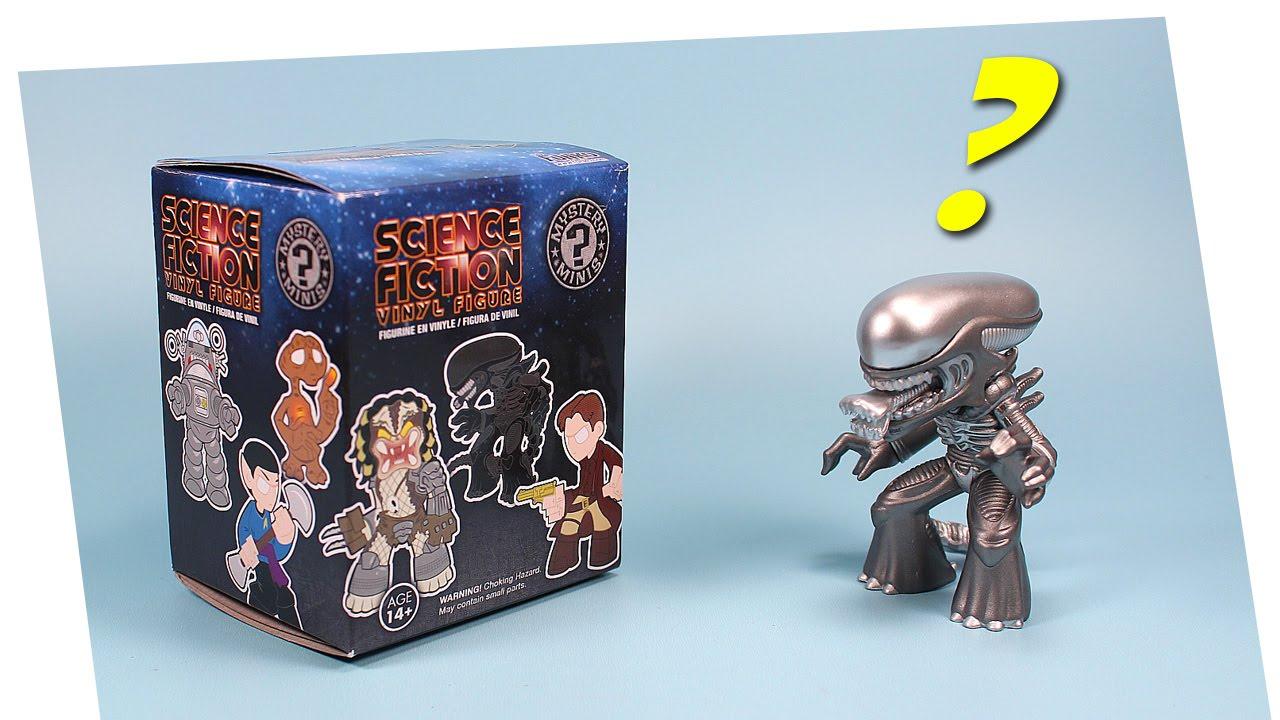 Science Fiction Vinyl Figure Mystery Minis Funko Opening