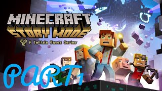 Minecraft Story Mode live come join me Grisha Gaming Channel part1
