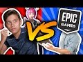 EPIC GAMES VS. EVANTUBEHD!!! My Rare Emote is Gone!