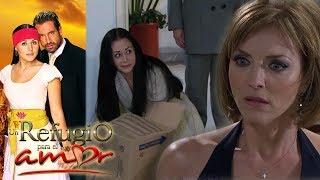 Un refugio para el amor - Capítulo 30: Roselena corre a Luciana de la casa Torreslanda | Tlnovelas