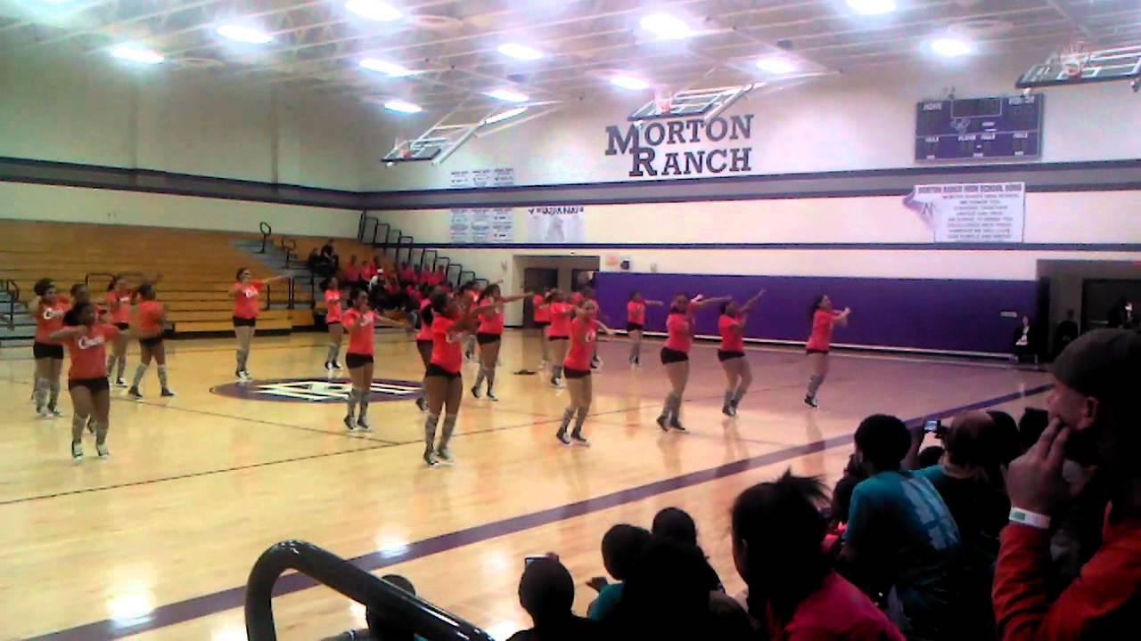 Alief Taylor High School Crimson Cadettes 2012 - YouTube