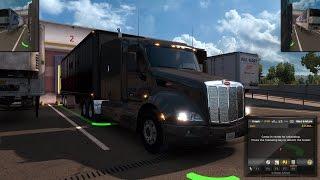 American Truck Simulator Episode 32 Flour to Ukiah, CA