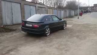 Audi Coupe V8 first drive