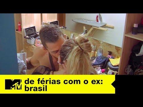 Luca e Bifão se pegam e Stéfani fica pistola  De Férias Com O Ex Brasil Ep 11