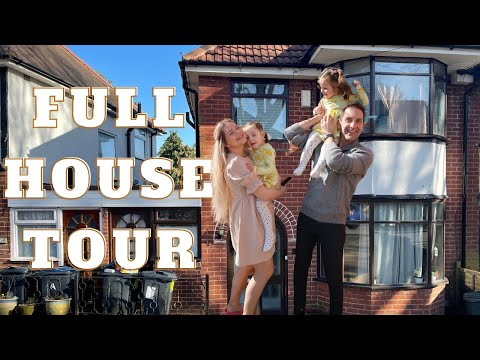 FULL HOUSE TOUR / 1930 's 3 BED SEMI DETACHED HOUSE  /UK