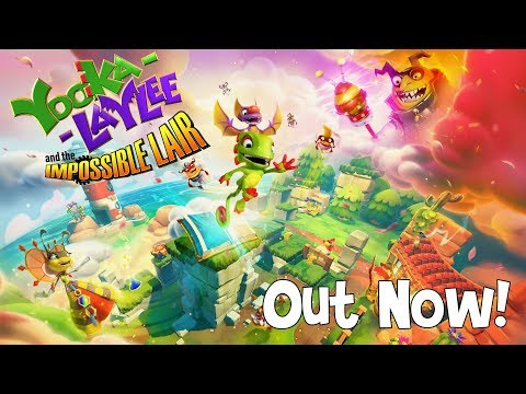 Yooka-Laylee and the Impossible Lair bounced onto PC today | PC Gamer