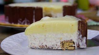 Torta de Sorvete Dadinho Crocante – Muito Fácil