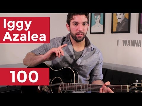 Guitar guitar tabs 100 : Iggy Azalea - 100 (Guitar Chords & Lesson) by Shawn Parrotte - YouTube