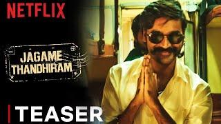 Jagame Thandhiram | Teaser | Dhanush, Aishwarya Lekshmi, Karthik Subbaraj | Netflix India | Reaction