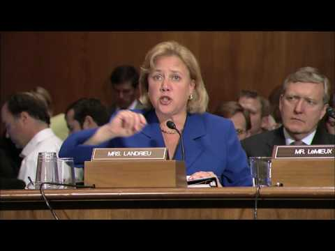 Landrieu Testifies Before the Environment and Public Works Committee