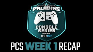 Paladins Console Series Recap - Presented by Mixer