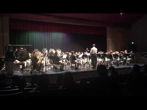 Overture In C Minor Buhach Colony High School Thunder band 2017 Winter concert