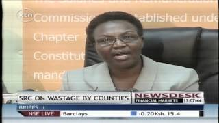 Salary and remuneration commission talks tough against wastage by counties