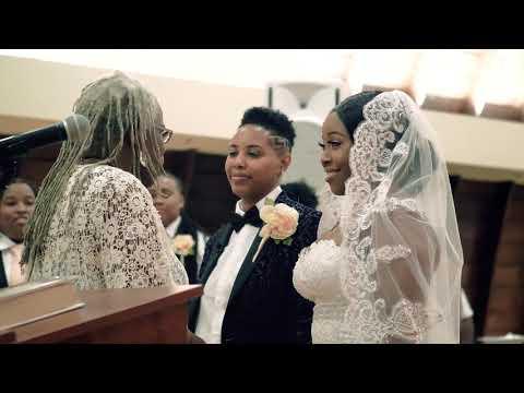 MOST BEAUTIFUL WEDDING EVER!! Lesbian Wedding 2018