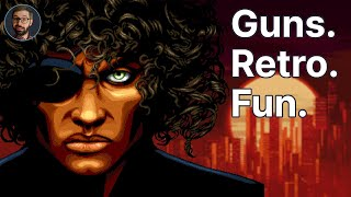 Huntdown Review | Classic cyberpunk action side scroller (Video Game Video Review)