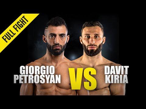 Giorgio Petrosyan vs. Davit Kiria | ONE Championship Full Fight
