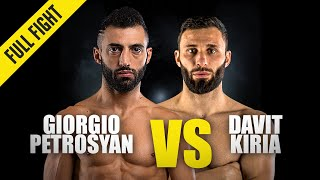 Giorgio Petrosyan vs. Davit Kiria | ONE Championship Full Fight