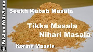 Eid Special Homemade Masala Recipes Collection by Kitchen With Amna