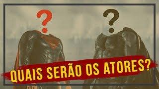 QUEM SERÃO OS NOVOS BATMAN E SUPERMAN? | Jogando Papo Fora