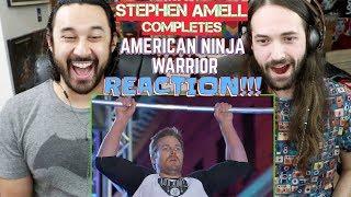 STEPHEN AMELL Completes AMERICAN NINJA WARRIOR - REACTION!!!