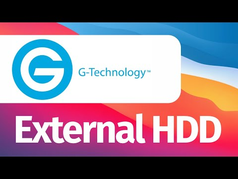 How to use & set up G-Technology External Hard Drive on Mac