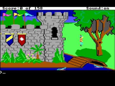 King's Quest 1 Original AGI Intro (PC)