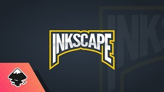 Inkscape Tutorial: Arched Text Emblem