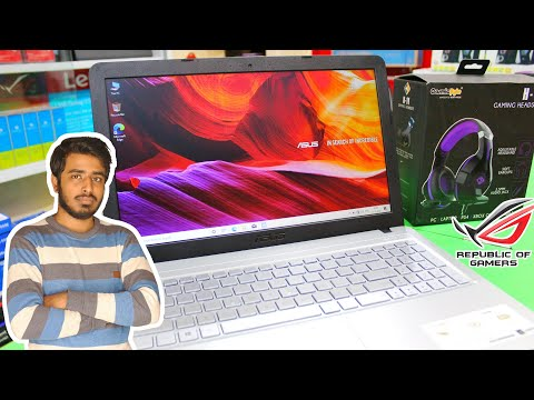 Unboxing Asus Pentium Quad Core - (4 GB/1 TB HDD/Windows 10 Home) X543MA-GQ1020T Laptop
