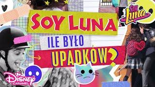 Ile było upadków | Soy Luna | Disney Channel