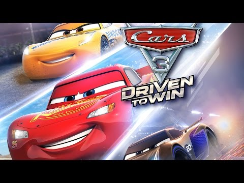 🤗 NEW CARS 3 GAME 2017 🚗🏎 DRIVEN TO WIN  - FIRST FOOTAGE - CARS MATERNATIONAL CHAMPIONSHIP #08
