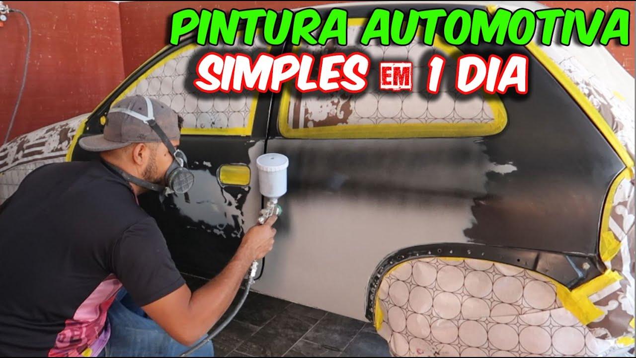 COMO  fazer PINTURA AUTOMOTIVA PERFEITA com TÉCNICA SIMPLES e FÁCIL!