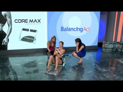 Tone Your Arms, Abs, and More with the Core Max
