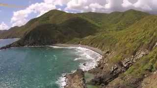 drone flys over St. Croix