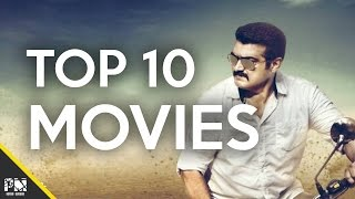Top 10 movies of 'Thala' Ajith Kumar