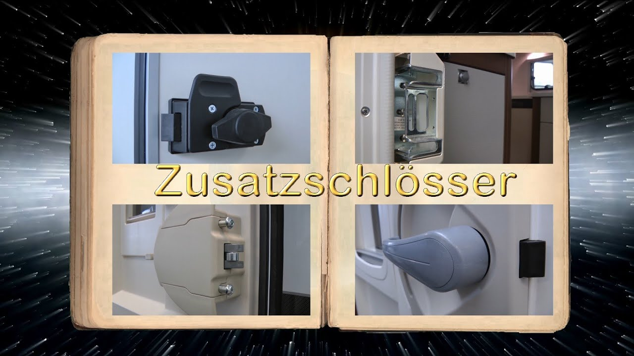 zusatzschl sser im wohnmobil doovi. Black Bedroom Furniture Sets. Home Design Ideas