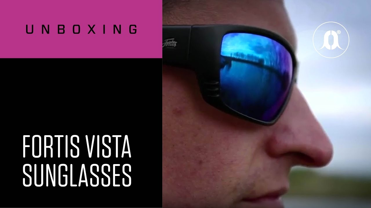 2f35581661e CARPologyTV - Fortis Eyewear Vista Polarised Sunglasses Unboxing Review