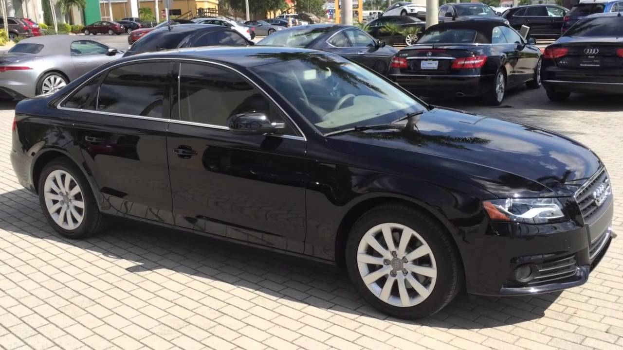 2011 audi a4 2 0t premium multitronic sedan youtube. Black Bedroom Furniture Sets. Home Design Ideas