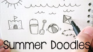 Summer Doodles | Doodle with Me