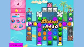 Candy Crush Saga Level 3085 16 moves NO BOOSTERS Cookie