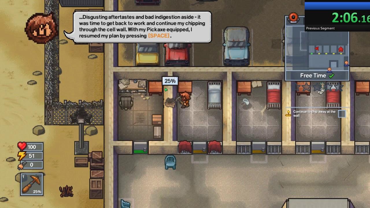 Escapists 2 Precinct 17 Speedrun  3:23