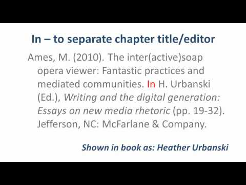 Annotated bibliography on musician wellness  How to Write an Annotated Bibliography