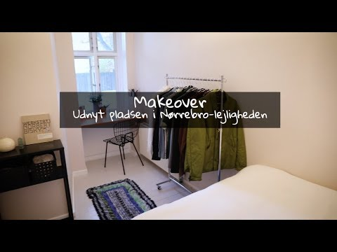 Bolig-makeover: Small space living på Nørrebro med Manne