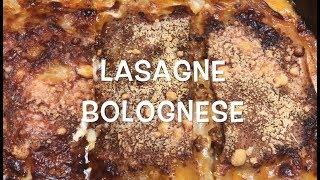 Kochvideo mit Rezept - Lasagne Bolognese